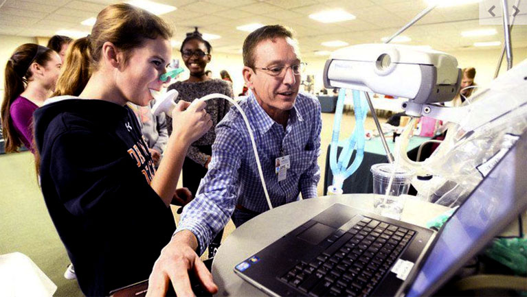 Students Explore Health-Care Fields