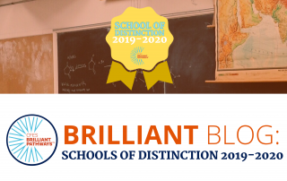 Schools of Distinction blog 2019-2020